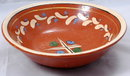 Old Mexican FOLK ART Painted Pottery Bowl  **PRICE REDUCTION**