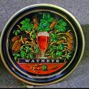 WATNEY MANN BEER TRAY. Hancock Corfield & Waller LTD Mictham London Printed in England  VINTAGE