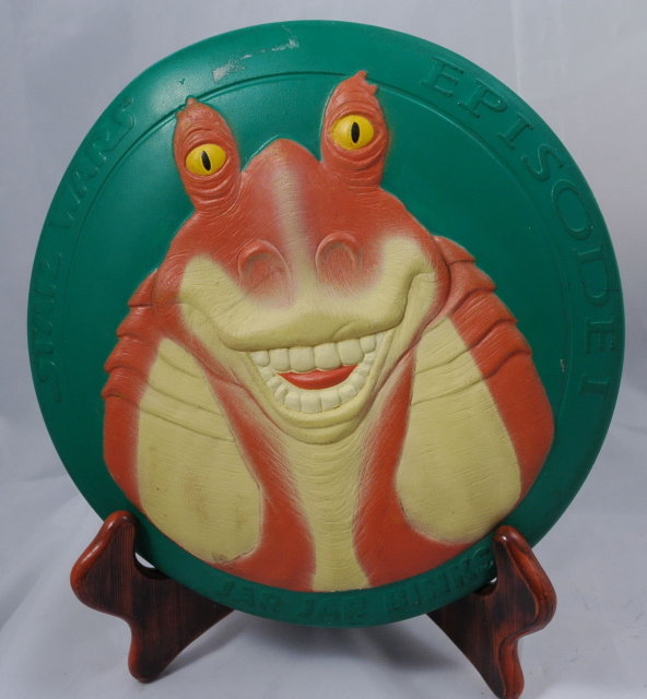 STAR WARS EPISODE 1 JAR JAR BINKS FRISBEE