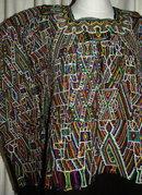 Guatemalan Mayan Huipil Nebaj  Handwoven   Vintage