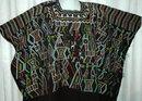 Guatemalan Mayan Huipil Nebaj  Guatemala Ethnic Folk Art Textile Vintage