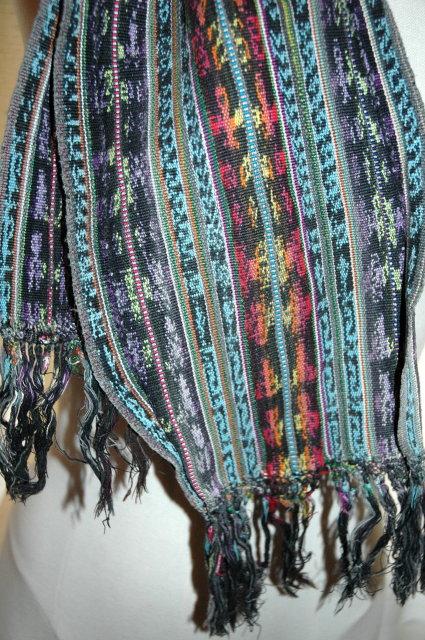 Long Guatemalan hand wovan   Sash  or Faja  7