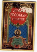 Werba's Brooklyn Theatre Program 1928