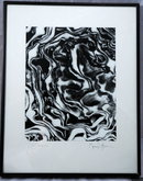 Abstract Art Black/White Photograph signed * PRICE REDUCTION!*