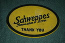 Schwppes Rubber Spill Matt