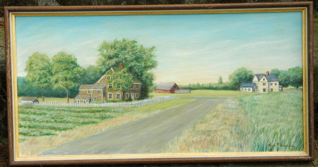 Ann T Banning Original Landscape Oil Painting