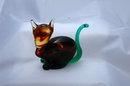 Art Glass Hand blown Cat