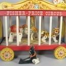 Fisher Price  Wooden  Circus Train Set  by Fisher Price # 900  1962