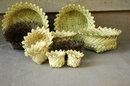 TARAHUMARA INDIAN Baskets , stacking set