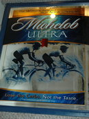 Michalob Ultra  Light Beer Bar Mirror Cycle Racing  **PRICE REDUCED**!!