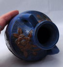 Majolica Japanese 2 Handled  Pottery Vase   *PRICE REDUCTION! *