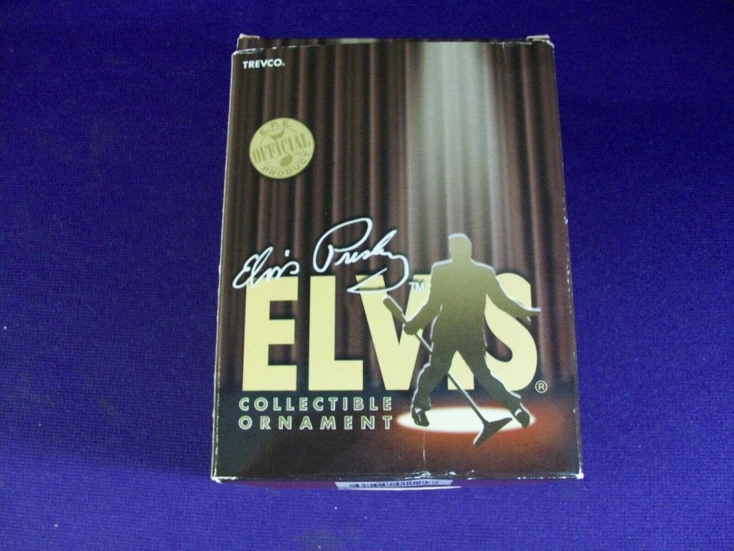Elvis Presley Ornament Aloha From Hawaii Trevco   New In Original Box