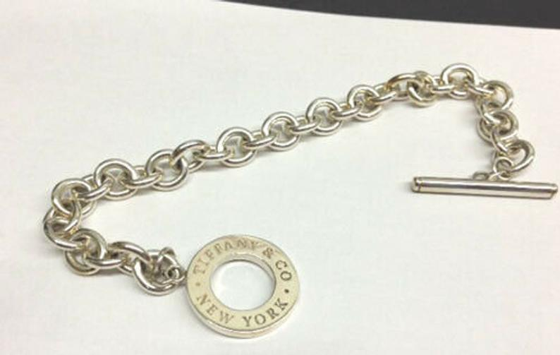 Tiffany & CO Sterling Silver Toggle Bracelet