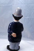 Policeman  English Bobby Decanter or Ceramic Bottle / Shields Fifth Avenue Store