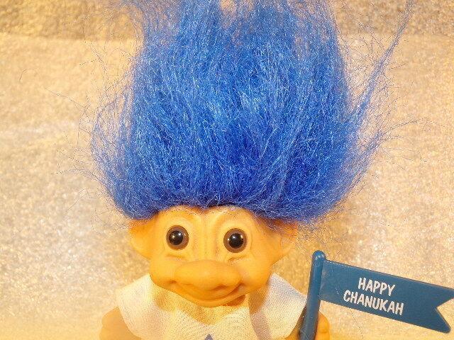 Vintage Jewish Happy Hanukkah Chanukah Troll Russ Troll Doll 3