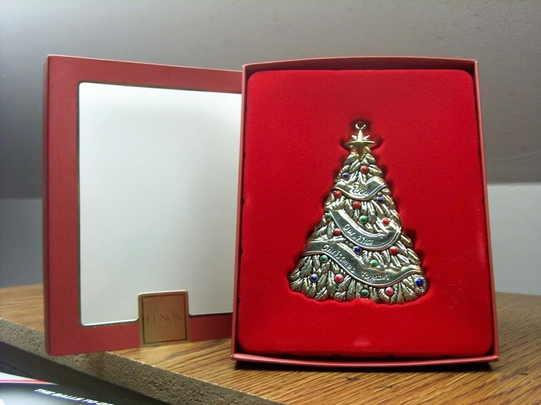 Lenox 2006 Our First Christmas Together Tree Ornament New In Box