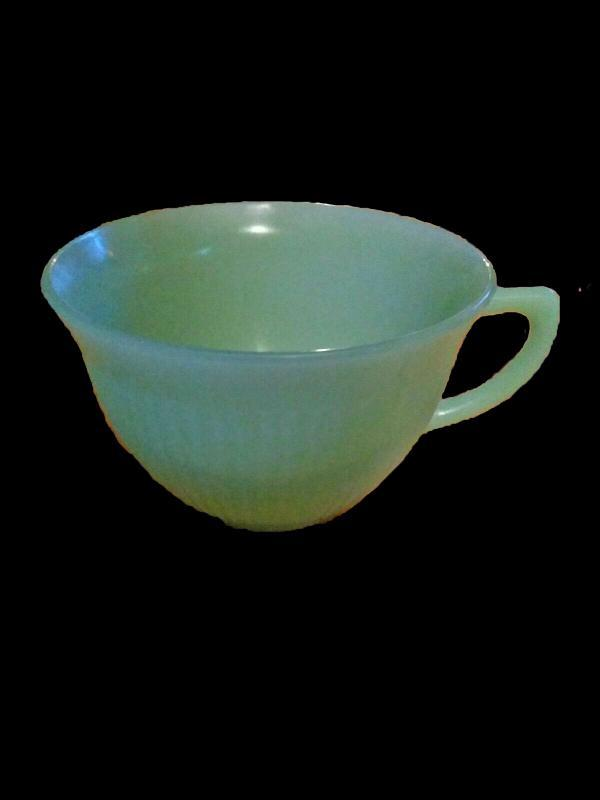 Fire King Jadeite Jane Ray Coffee or Tea Cup