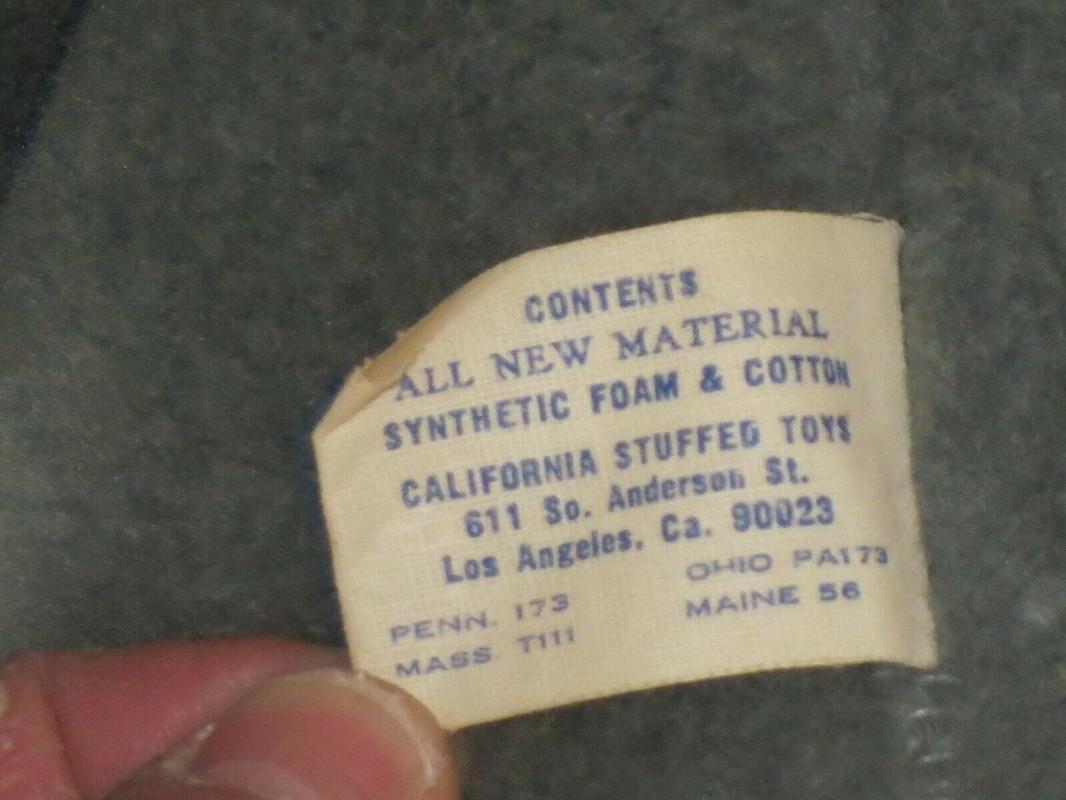 CALIFORNIA STUFFED TOYS WALT DISNEY DUMBO Vintage