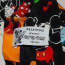 DISNEY MICKEY MOUSE BAND BALANCINE SILK TIE