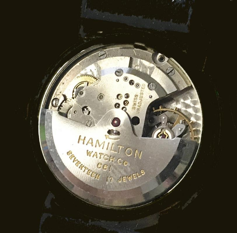 Vintage Hamilton Automatic 10K Gold Filled Waterproof Men's Wrist Watch