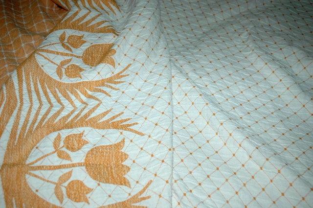 Bates Cotton Bedspread -vintage  80