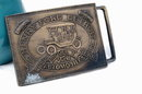 Model T Henry Ford Belt Buckle - commemorative