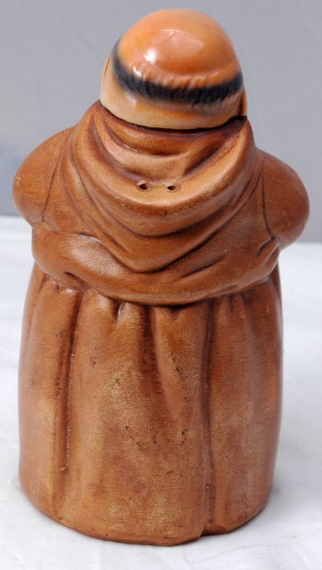 Large Twin Winton Monk Pepper Shaker