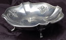 Estanhos 95% SN Portugal Pewter Grape Dish Signed F.D.