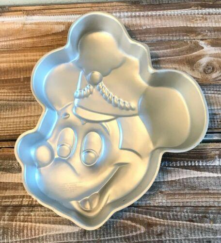 RARE Retired 1976 Wilton Mickey Mouse Band Leader 3D cake pan Walt Disney