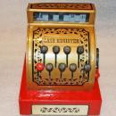 NICE VINTAGE BUDDY L METAL/PLASTIC CASH REGISTER, MADE JAPAN,