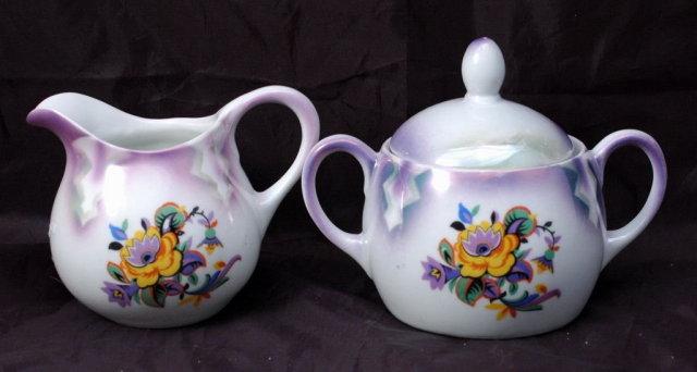 Eleanor Bavaria Porcelain Cream & Sugar PRICE REDUCTION!