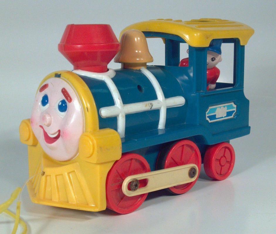 My First Buddy L Train Engine Pull Toy