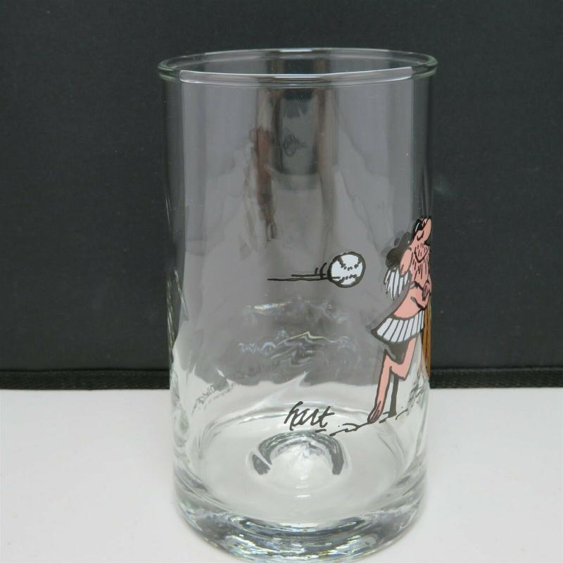 Arby's B.C. Comics Glass Wiley Character  Glass 1981 Tumbler Collection Johnny Hart