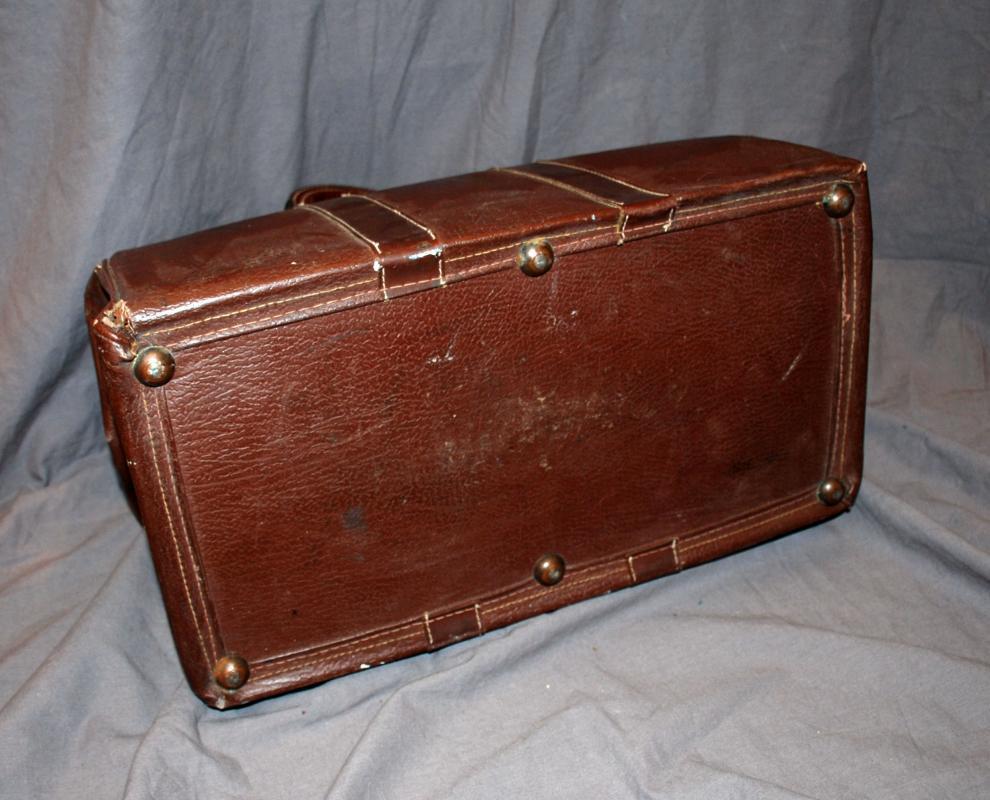 Vintage Leather Doctor's Bag