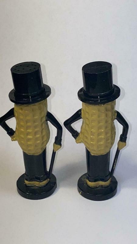 Mid Century Planters Mr. Peanut Salt and Pepper Shakers