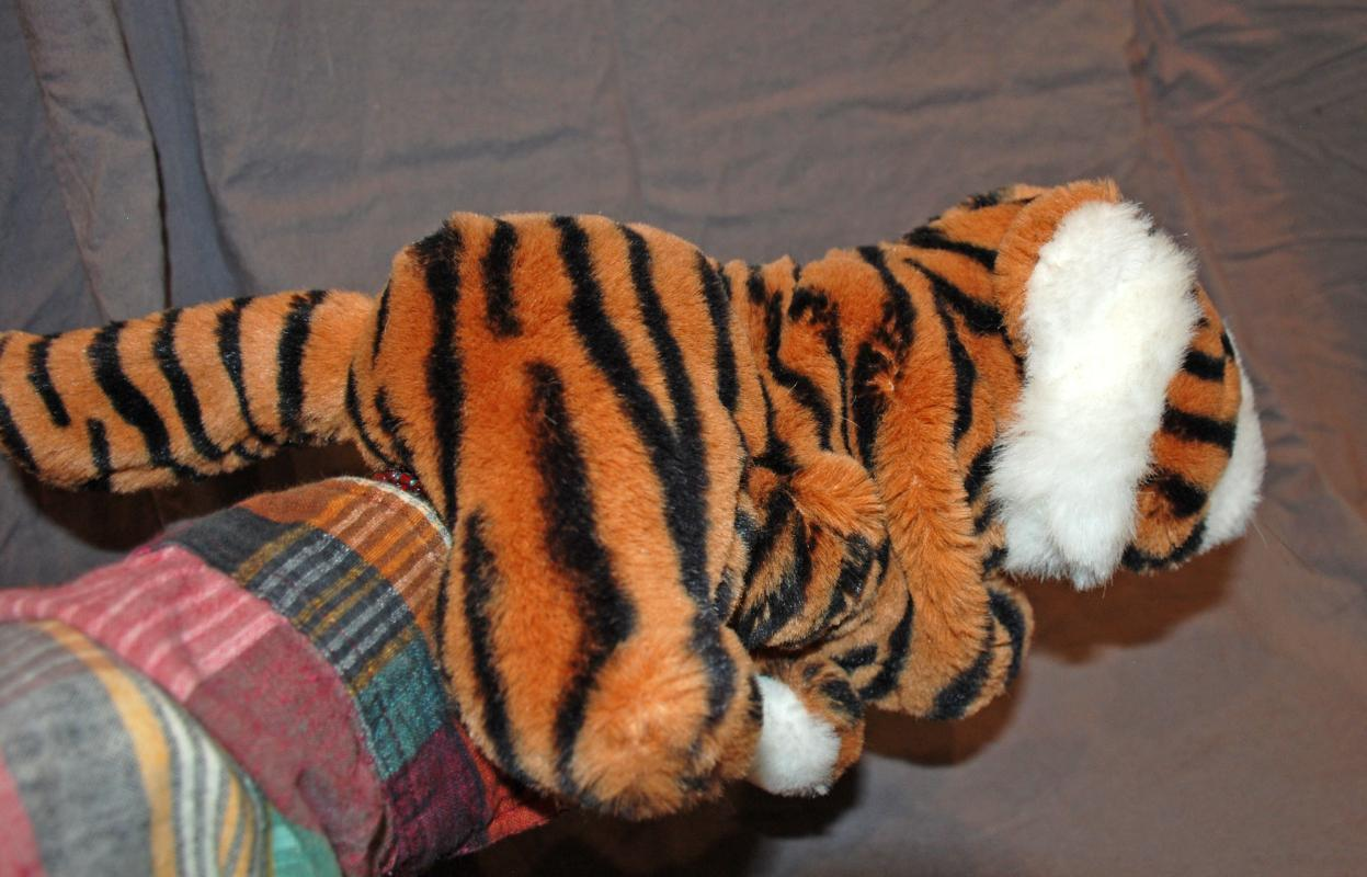 Tiger Puppet Plush by Granzbros, The Heritage Collection 17