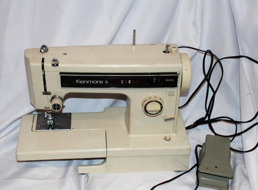 Vintage Sears Kenmore Sewing Machine Free Arm Model # 15812411