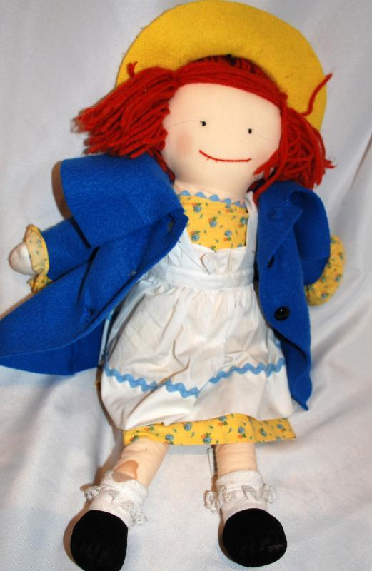 Madeline Doll by Eden Toys Cloth Doll 20