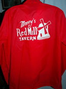 Miller High Life  Beer  Manny's Red Mill Tavern Nylon Windbreaker Jacket  Free Shipping in the USA