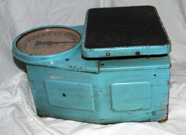 Antique Industrial or  Bathroom Scale Way Rite