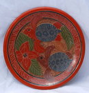 Old Mexican Terra-Cotta Turtle Platter Folk ART PRICE REDUCED!