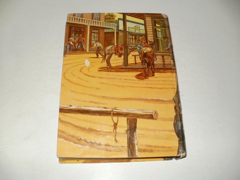 Wyatt Earp by Phil Ketchum - Vintage 1956 Whitman Collectible Book, Art, Illustrated
