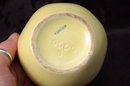 Old Pottery Apple Sugar or Jam Bowl with Lid Marked