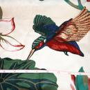 1.6 yards of Vintage Decor Chintz Fabric Schumacher Waverly Prints Serenity Points of East Collection , Hummingbirds 54