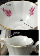 Alka Bavaria Footed Demitasse Tea Set 11 piece serving set.