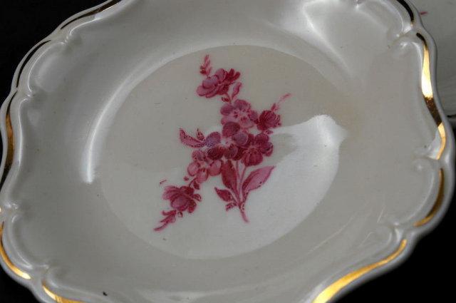 5 ALKA  Kronach Kragujevac Bavarian Porcelain Nut or Mint plates