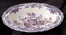 Crown Ducal BRISTOL-MULBERRY  Porcelain   Serving Bowl / Dish  762055