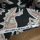 Stegosaurus, DINOSAUR Cotton Fabric 1 yard , * Joe's La Brea , Joe Boxer Corp