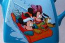 Disney Houston Harvest , Mickey, Minnie, Pluto Ceramic  Porcelain Teapot.