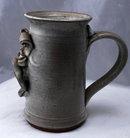 Grimes Stoneware Donkey Face Sculptured  Mug Stein * PRICE REDUCED*! .
